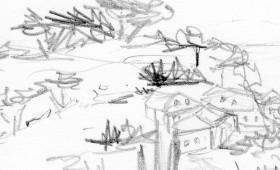 Landschaftskizzen