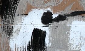 Abstrakt auf Braun