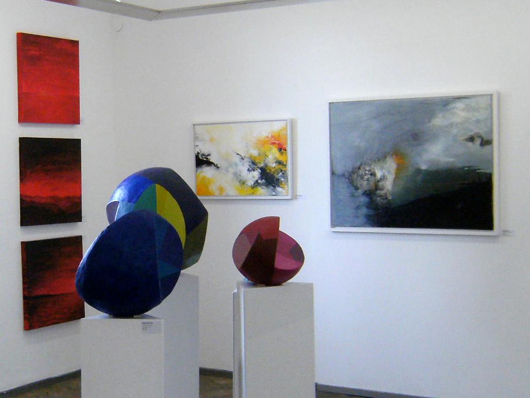 Ausstellung im Kunstbahnhof