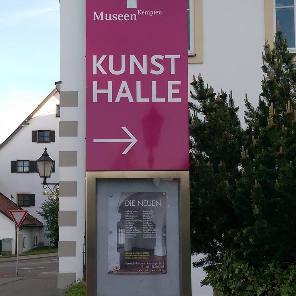 »DIE NEUEN« in der Kunsthalle Kempten