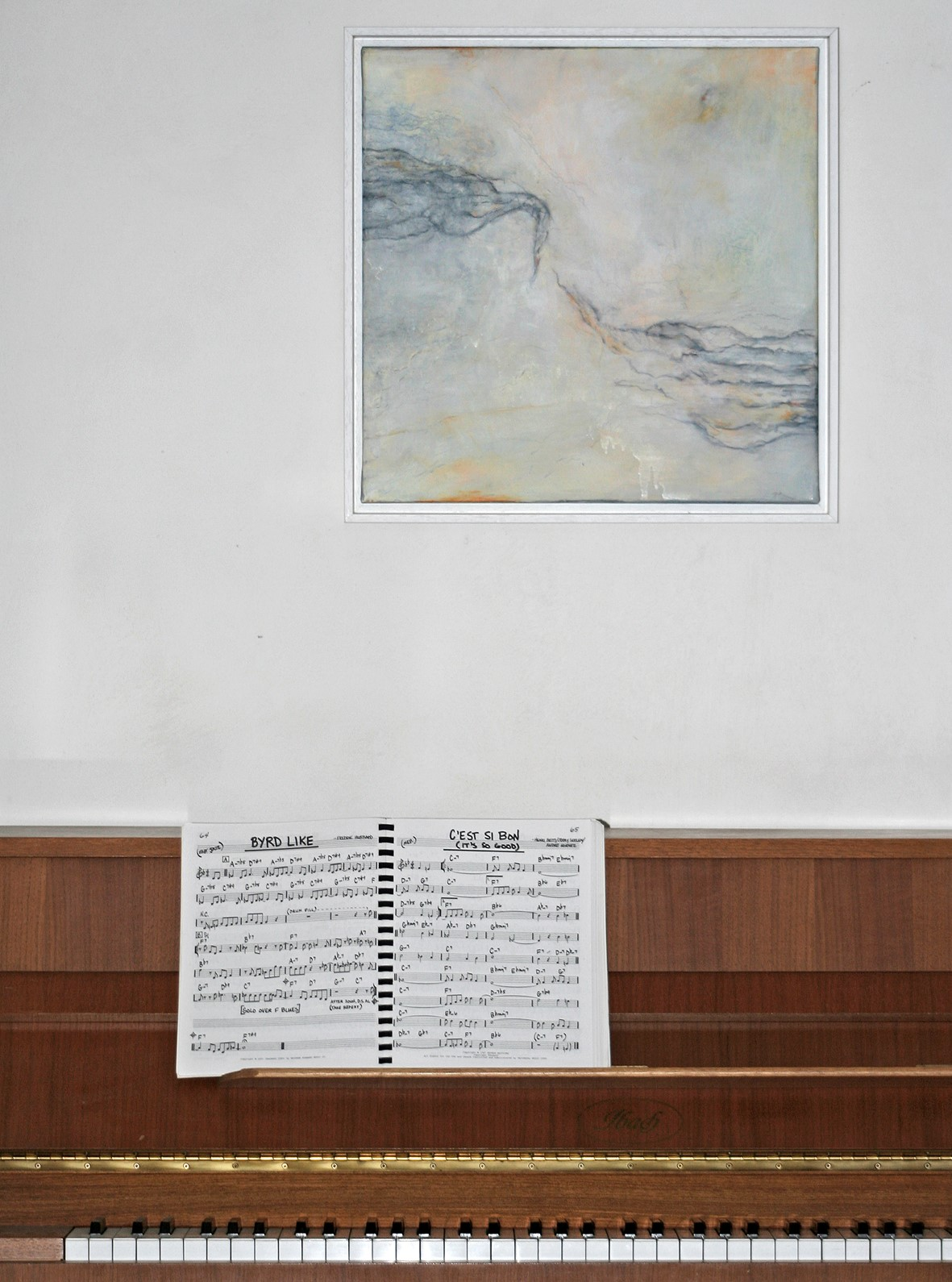 Foto von einem Bild zur Kundenmeinung von Sammler*innen meiner Kunst in Nonnenhorn