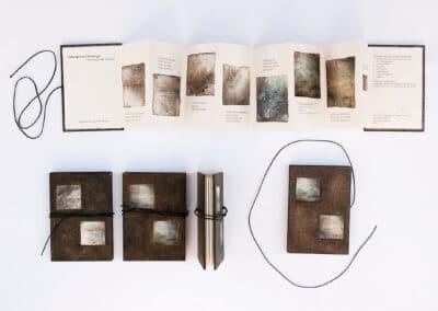 kunstreiche Hebungen und Senkungen Leporello 7,5 × 11 cm Artist Book, Edition 20