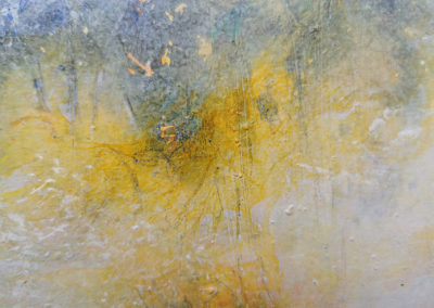 kunstreiche Sanft: Acryl auf Malkarton 30x40 Detail