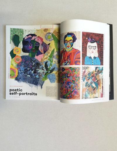 kunstreiche So fühle ich mich heute. Featured in Uppercase Magazine Nr. 47