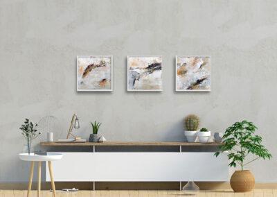 kunstreiche Weltenwundern (1-3) | an Wand